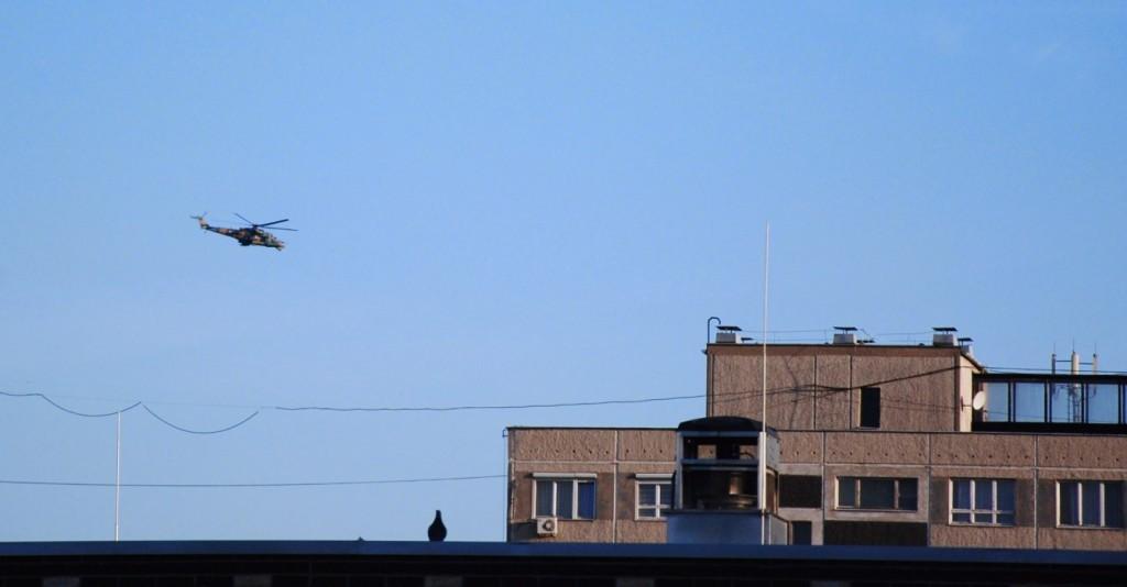 Hubschrauber von Stirb Langsam