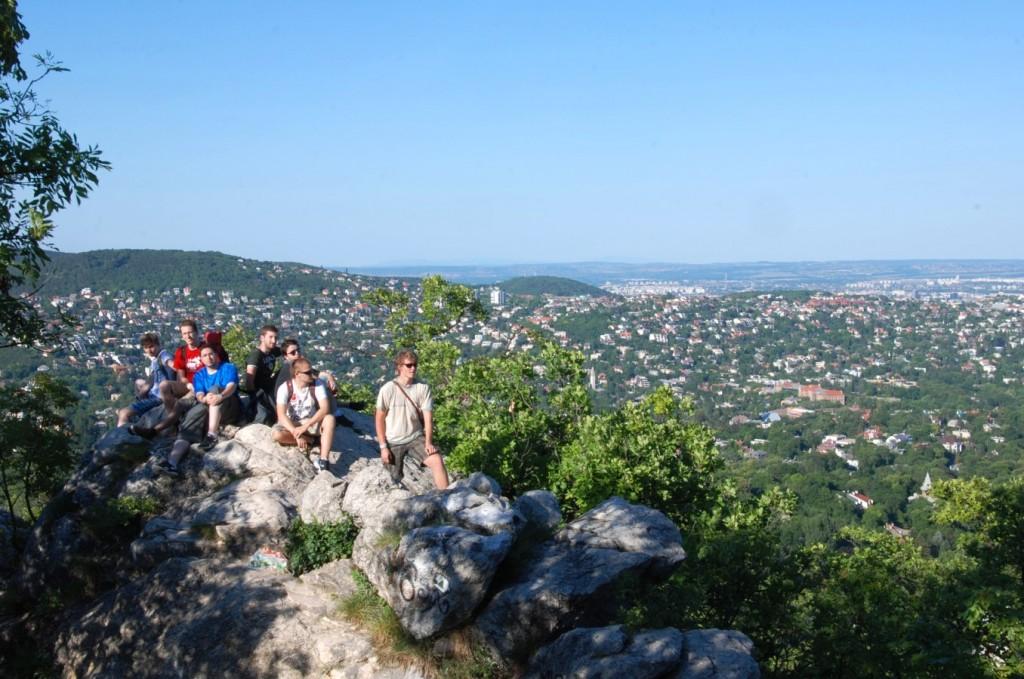Wandern in Budapest