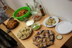 Finnisch - schwedisch - norwegisches Buffet