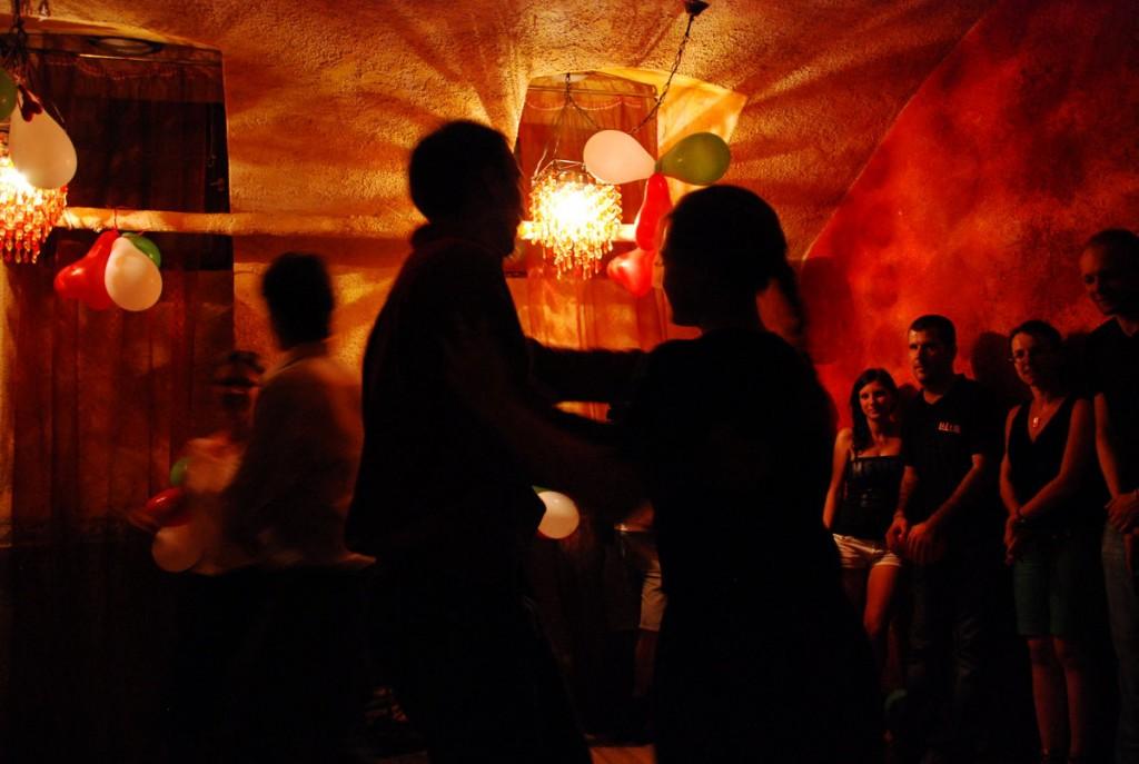 Traditioneller ungarischer Tanz